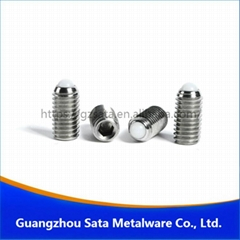 POM ball spring plunger screw