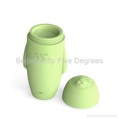55 degree HiHi cup Fur Seal Water Bottle 300 ml 3