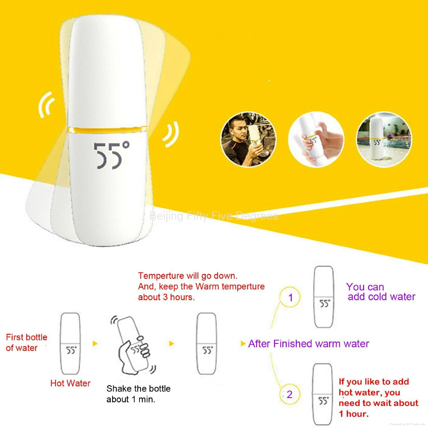 55 degree cup fast cooling cup 5