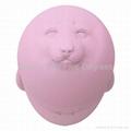 55 degree HiHi Fur Seal  Water bottle pink 300ml 1