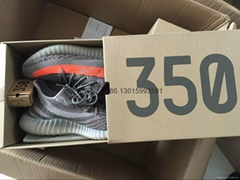 Authentic Yeezy 350 Boost V2 Black X Gucci hot sell original shoes