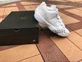 "Authentic Air Jordan 11 Low GS PRM HC ""Frost White"""