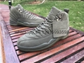 Authentic Air Jordan 12 OVO Black free shipping