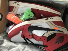 Authentic Off White X Air Jordan 1 Shoes wholesale  free shipping Off White