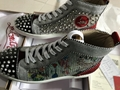 original top quality CL shoes Christian Louboutin Sneaker wholesale costom made