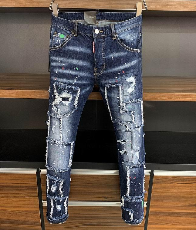 2021 wholesale jeans DSQ pants DSQ men's jeans DSQ2 wholesale new model 2