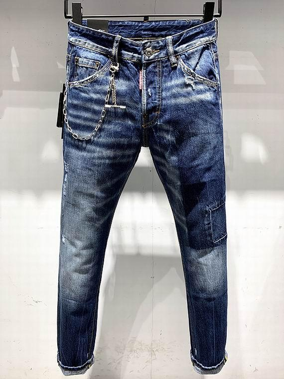 2021 wholesale jeans DSQ pants DSQ men's jeans DSQ2 wholesale new model 4