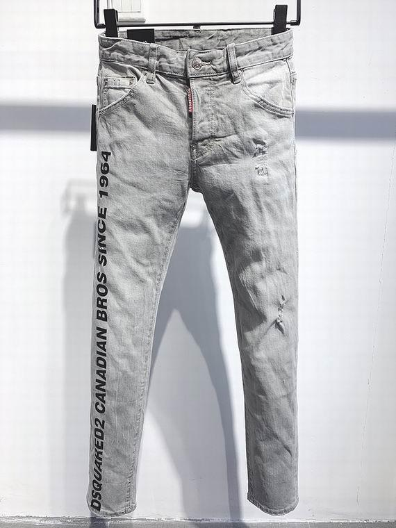 2021 wholesale jeans DSQ pants DSQ men's jeans DSQ2 wholesale new model 7