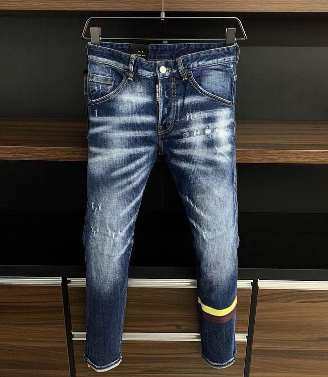 2021 wholesale jeans DSQ pants DSQ men's jeans DSQ2 wholesale new model 17