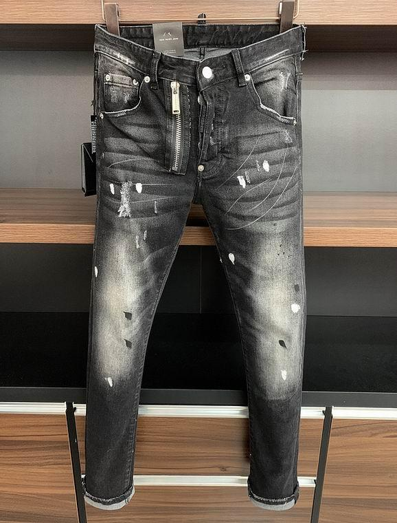 2021 wholesale jeans DSQ pants DSQ men's jeans DSQ2 wholesale new model 19