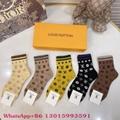 2021 new style dior socks lv brand socks cheap wholesale price socks