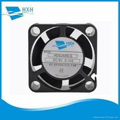 25mm 25x25x10mm dc 5v 12v 24v axial brushless cooling fan for 3d printer