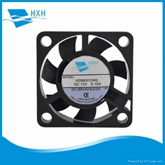 30*30*7mm High Air Volume Fan Cooling 3007 Mini Fan 5v 12v dc fan