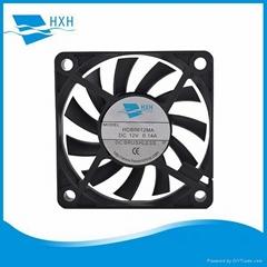 6cm air cooling fan 60*60*10mm dc 5v 12v