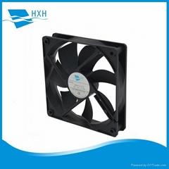 12cm 120mm 120x120x25mm dc axial brushless cooling fan 12v 24v