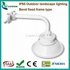 IP65 Outdoor 40W LED Low Bay Lanscape Lighting with Bend Fix Frame