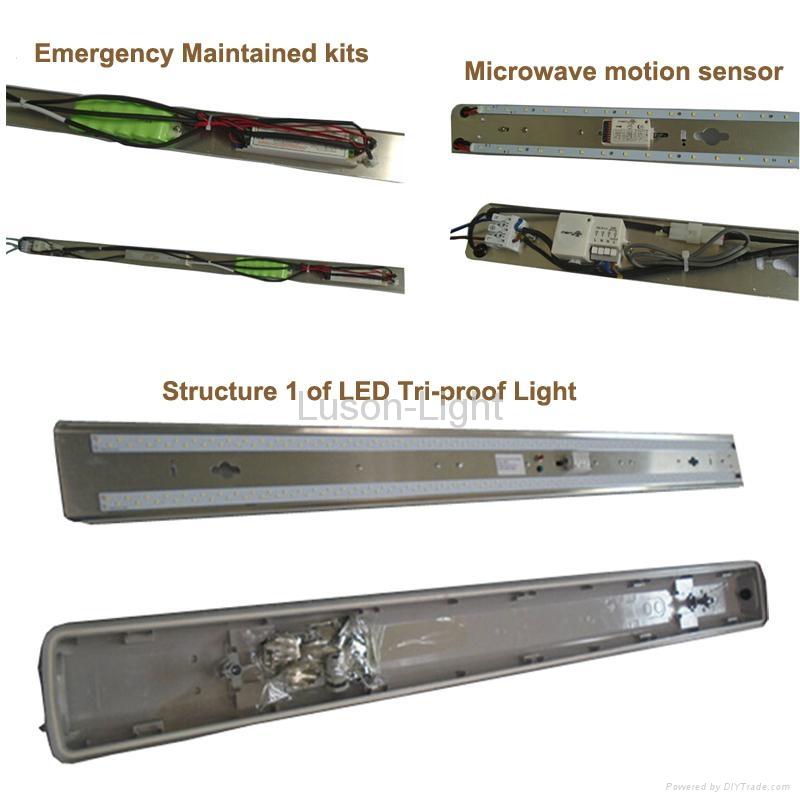 54W IP65 Tri-Proof LED Light 5