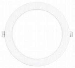 5 inch 12W slim round led panel lamp