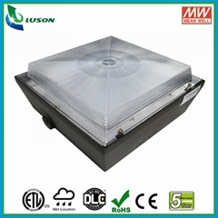US Standard Ultra Thin led recessed canopy light