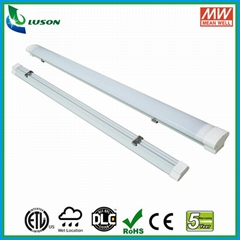 4FT 40W IP65 LED Linear Light replacement for double 36W fluorescent tubes
