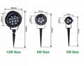 3W 5W 12W Spot LED Floodlight 3