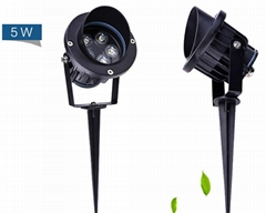 5W  IP67 LED Spot floodlights for tree lawn lighting
