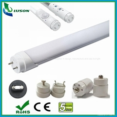 20W T8 4FT G13 Auto Smart Sensor LED Tube with Lux and Time Controller