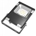 Square warm white 2700K 10W led flood light for garden lighting
