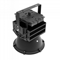 Suspended or hook hanging IP65 Waterproof 300W led projector for gym lighting