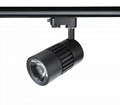 New design European hot sale 15W LED Track Light CRI90 COB
