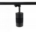 All-ways rotatable no flicker CRI>90 45W 4500lm cob led track light 4