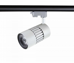 All-ways rotatable no flicker CRI>90 45W 4500lm cob led track light