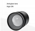 Adjust beam angle 10-60 degree CE RoHS 15W led track light for studio lighting  5