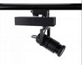 Adjust beam angle 10-60 degree CE RoHS 15W led track light for studio lighting  3