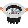 2 inch cut out 55mm 36mm height 3W COB Spot LED Downlight