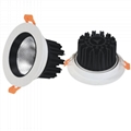 2.5 inch cut out 75mm 40mm height 5W 7W COB Spot LED Downlight