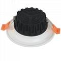 """High Lux SMD White Gold outer ring 8"""" 40W LED Downlight for meeting room light"""