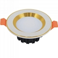 "Super bright apple gold outer ring 6"" 30W Ceiling led downlight"