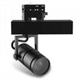 Adjust beam angle 10-60 degree CE RoHS 15W led track light for studio lighting