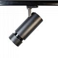 15-45 degree beam angle 30W led track light professional for fashion shop light