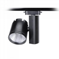 15W CREE COB High Bright Commercial Lighting LED Track Light 8