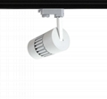 New design European hot sale 15W LED Track Light CRI90 COB 8