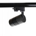 All-ways rotatable no flicker CRI>90 45W 4500lm cob led track light 8