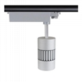 All-ways rotatable no flicker CRI>90 45W 4500lm cob led track light