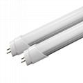 1200mm 4FT half aluminum half PC 18W T8 LED Tube light with No flicker