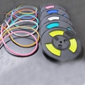 Flexible silicone DC5V IP67 IC Pixel RGB led neon light with RGB Controller