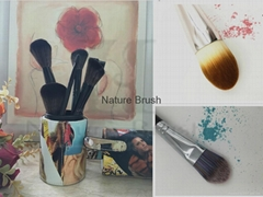 Professional makeup manufacturer high quality cosmetic brush from China
