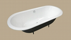 double ended CE&CUPC Drop In bathroom Bathtub Continuous Flat Top Finish
