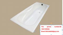 classical china bathroom CE&CUPC manufactory drop in cast iron bathtub