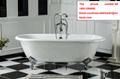 freestanding bathroom cast iron tub with